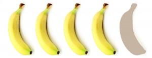 4 Bananen