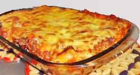 kalorienarme Lasagne