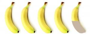 4 einhalb Bananen
